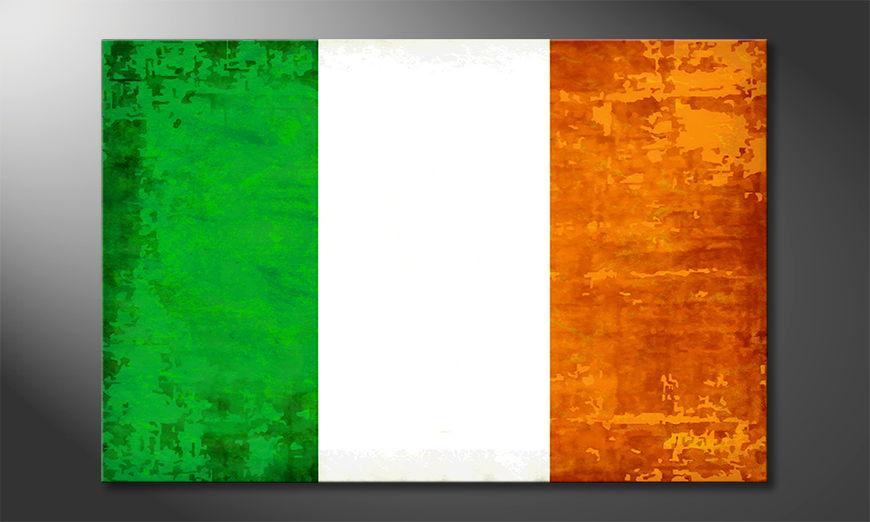 L'impression sur toile Irelande