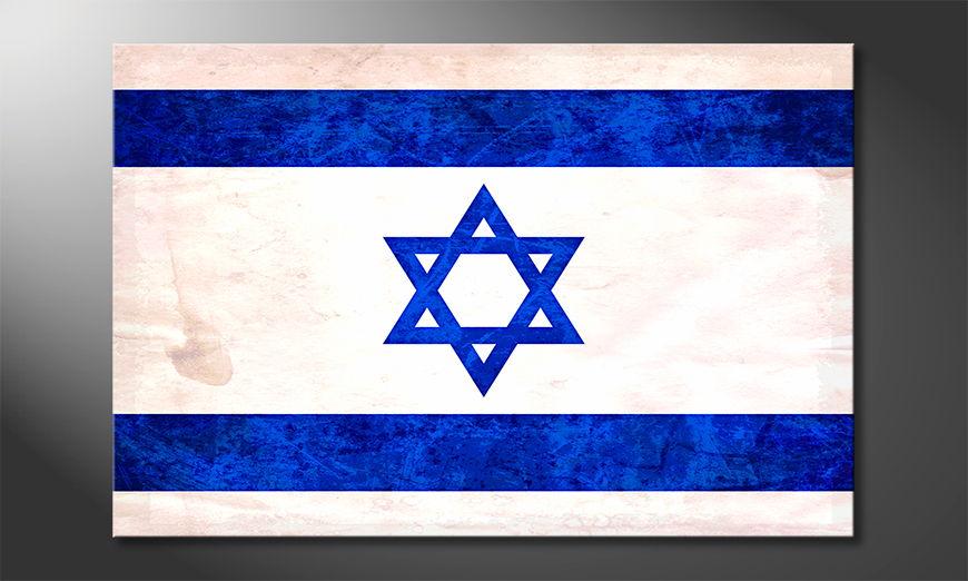 L'impression sur toile Israël