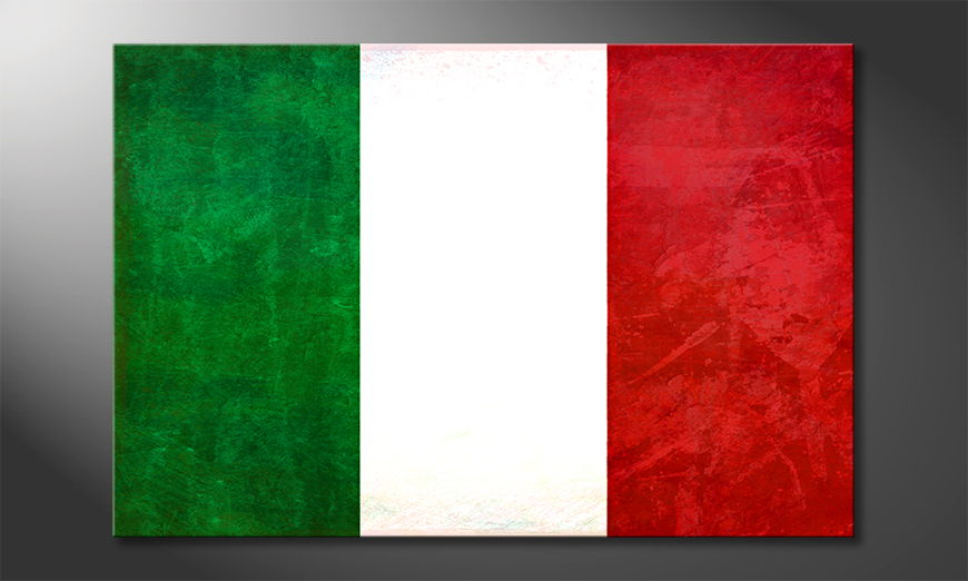 L'impression sur toile Italie