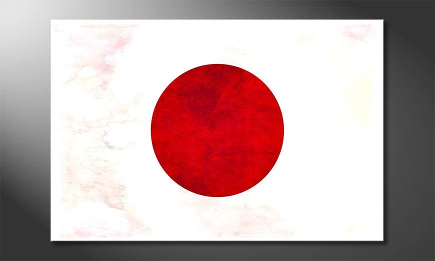 L'impression sur toile Japon