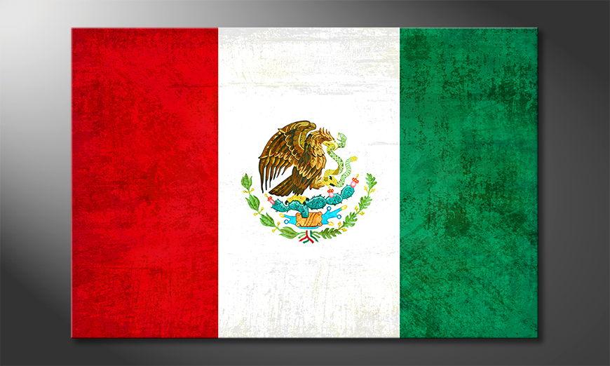 L'impression sur toile Mexique