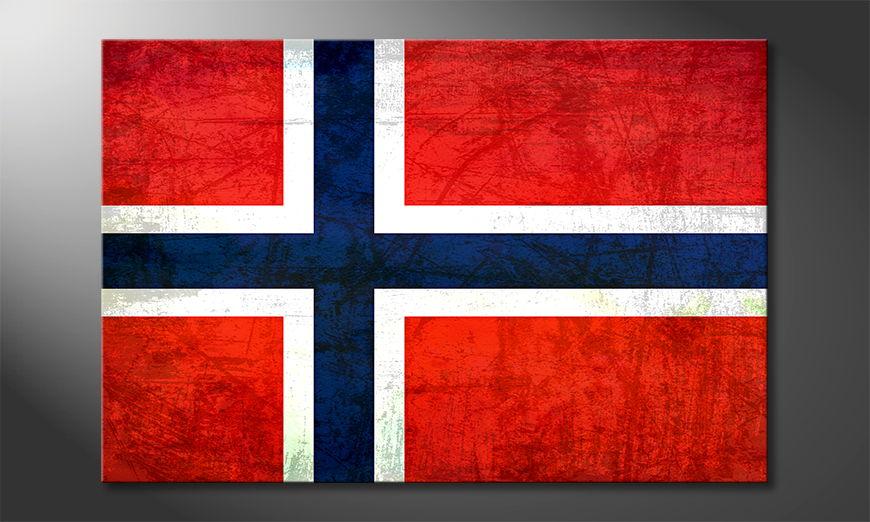 L'impression sur toile Norvège