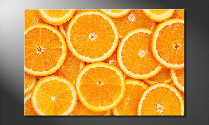L'impression sur toile Oranges