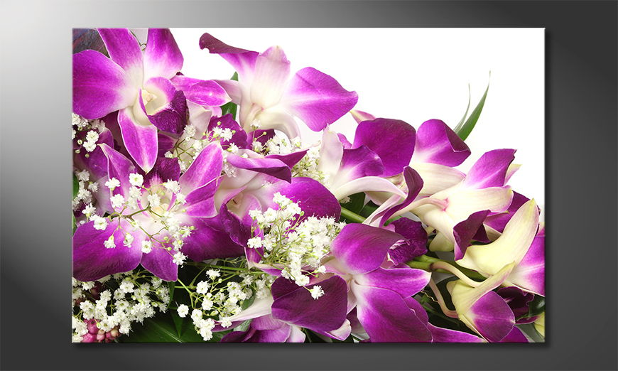 Limpression-sur-toile-Orchid-�Blossoms