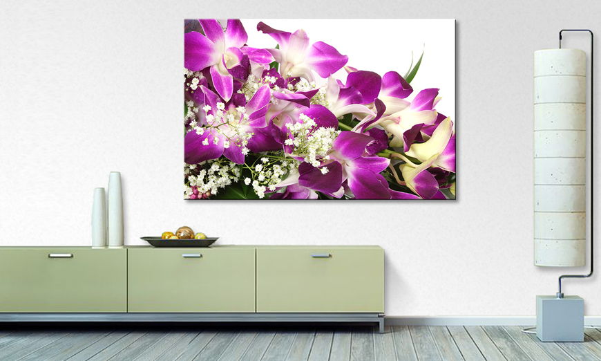 Limpression sur toile Orchid �Blossoms
