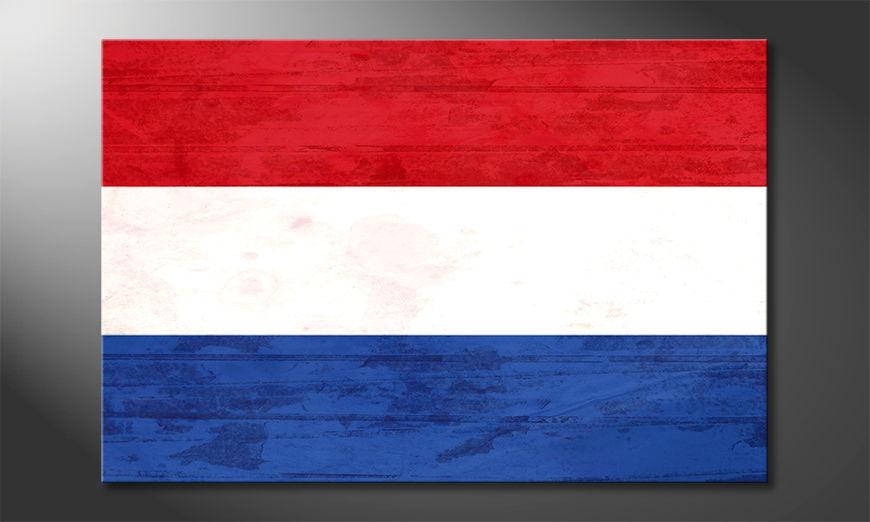 L'impression sur toile Pays-Bas
