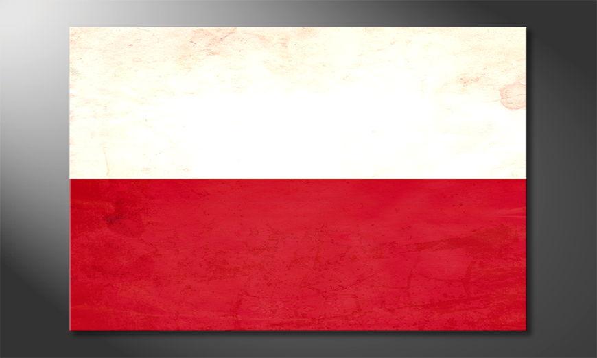 L'impression sur toile Pologne