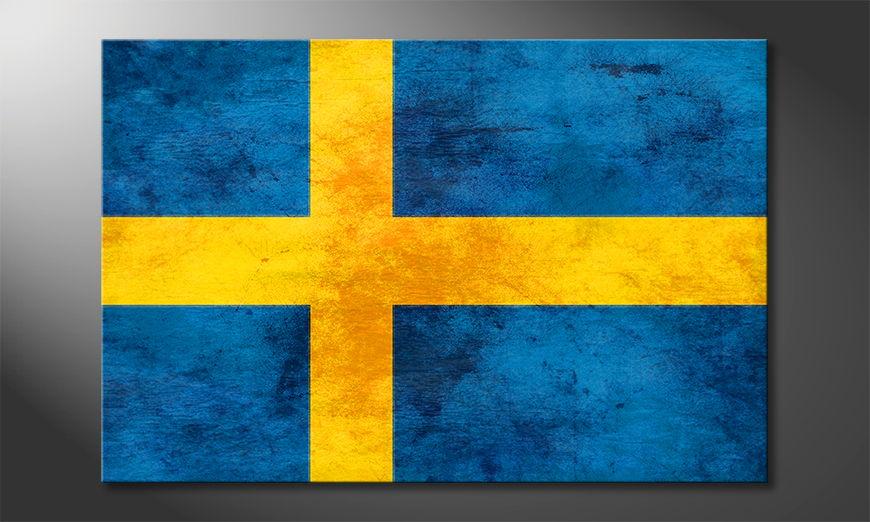 L'impression sur toile Suède
