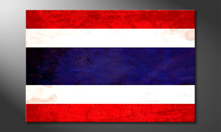 L'impression sur toile Thaïlande
