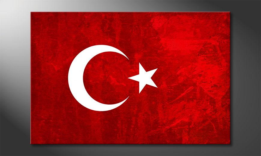 L'impression sur toile Turquie