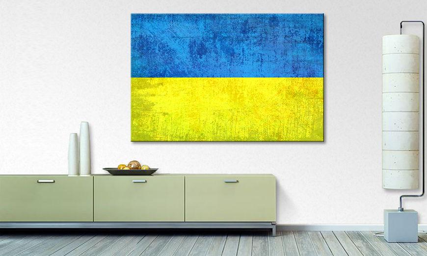 limpression sur toile ukraine tableaux xxl. Black Bedroom Furniture Sets. Home Design Ideas
