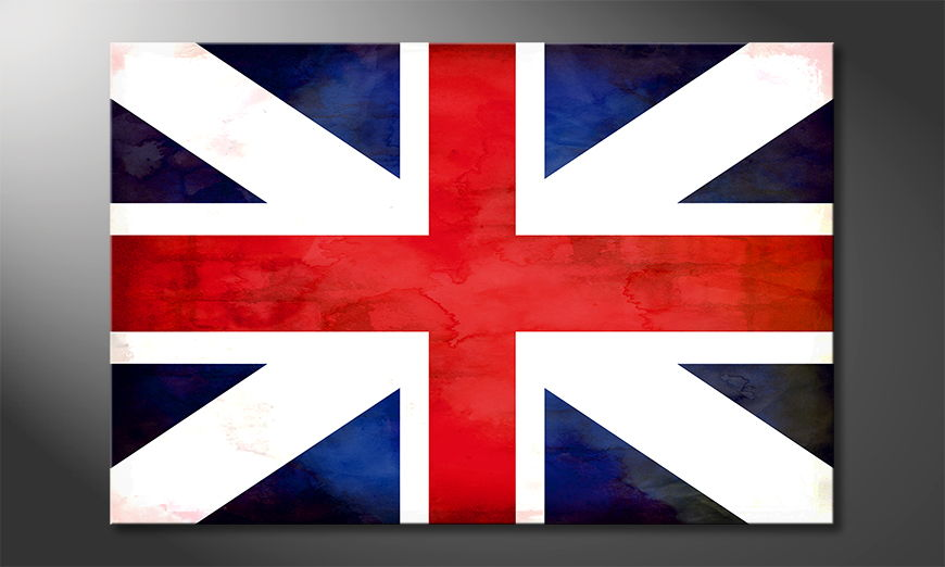 Limpression-sur-toile-Union-Jack