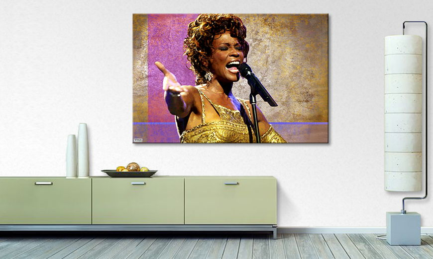 Limpression sur toile Whitney