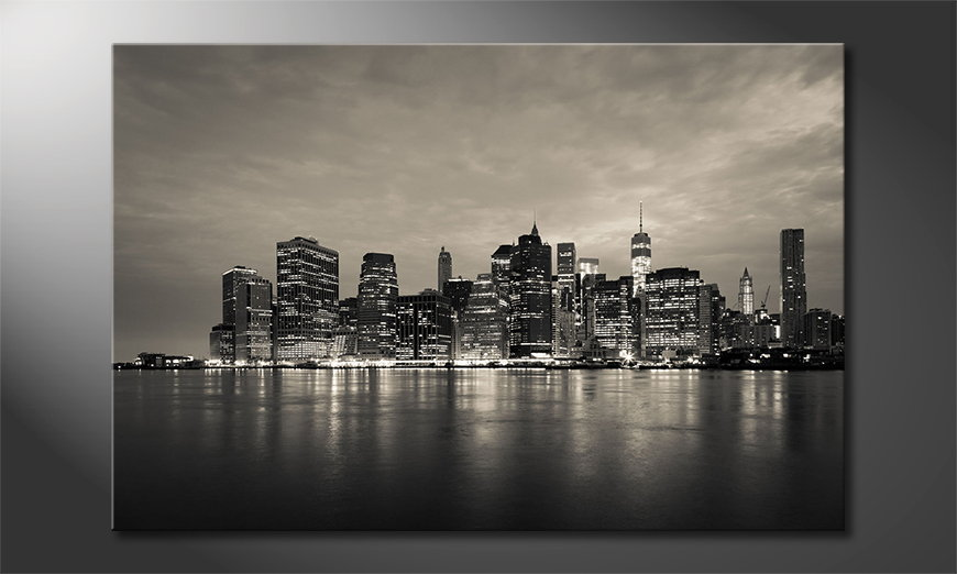 Manhatten Skyline Tableau