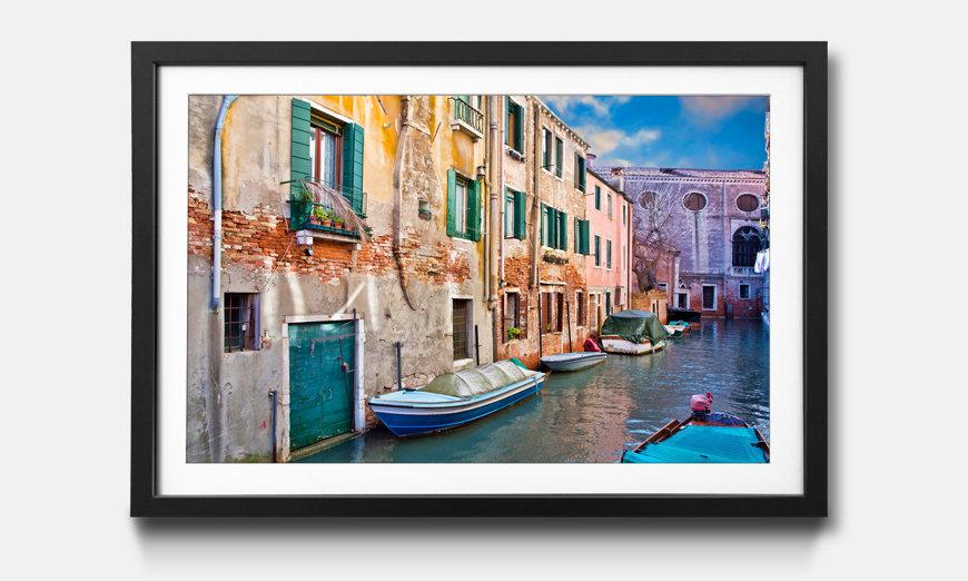La reproduction encadrée Beautiful Venice