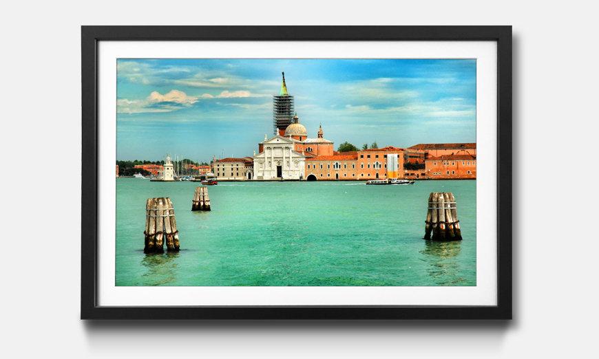 Le tableau encadré City Of Venice