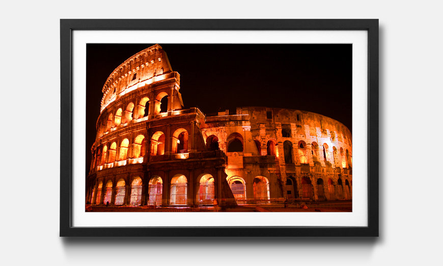 Le tableau encadré Colosseum