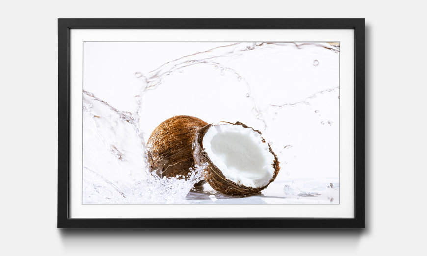 Le tableau encadré Cracked Coconut