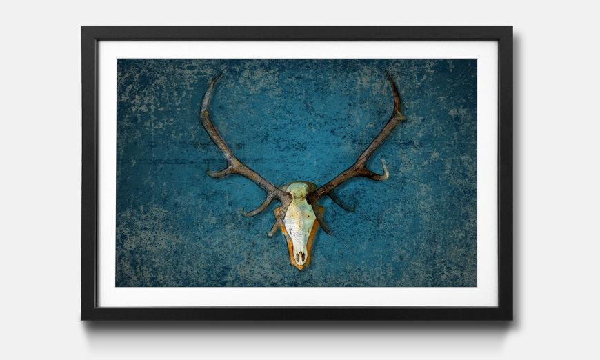 Le tableau encadré Deer Head