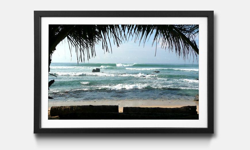 Le tableau encadré Pacific Waves