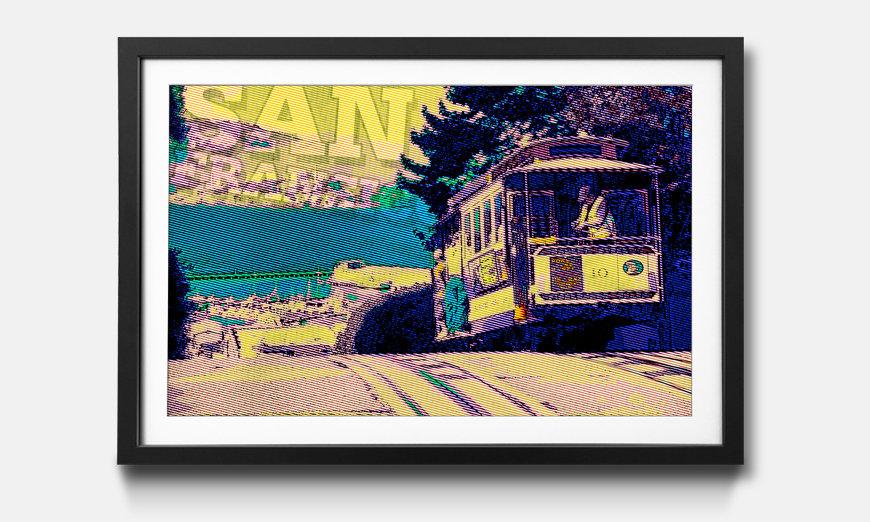 Le tableau encadré San Fransico