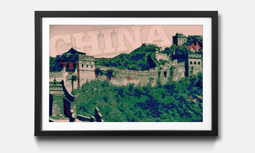 L'impression encadrée China