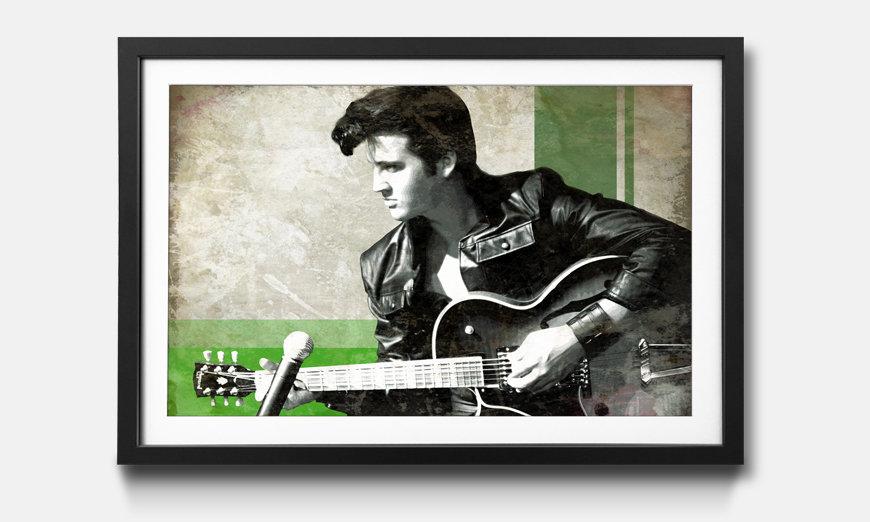 L'impression encadrée Elvis