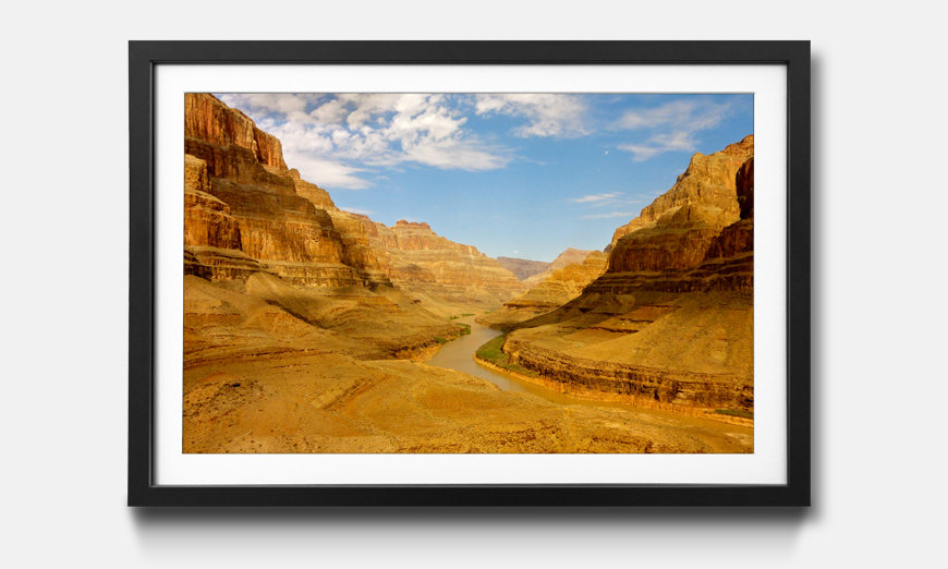 L'impression encadrée Grand Canyon
