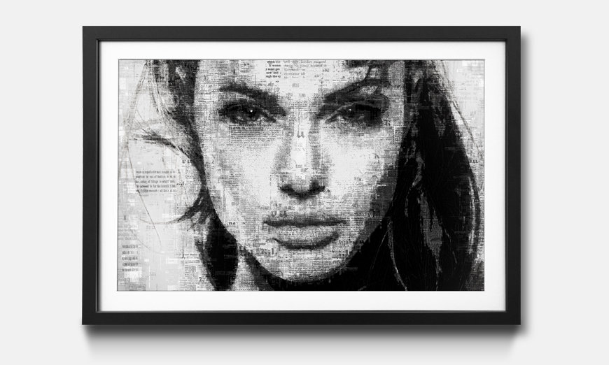 Reproduction encadrée: Angelina