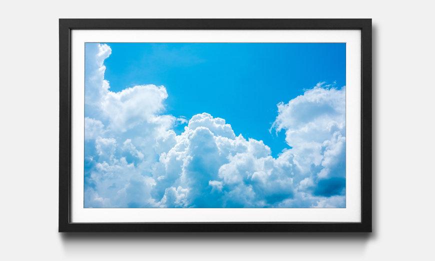 Reproduction encadrée: Clouds
