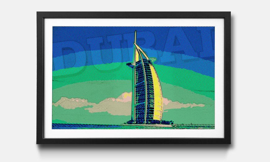 Reproduction encadrée: Dubai