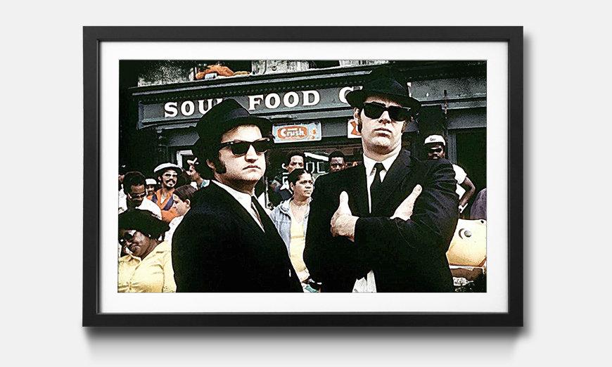 Tableau encadrée: Blues Brothers
