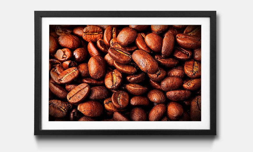 Tableau encadrée: Coffee