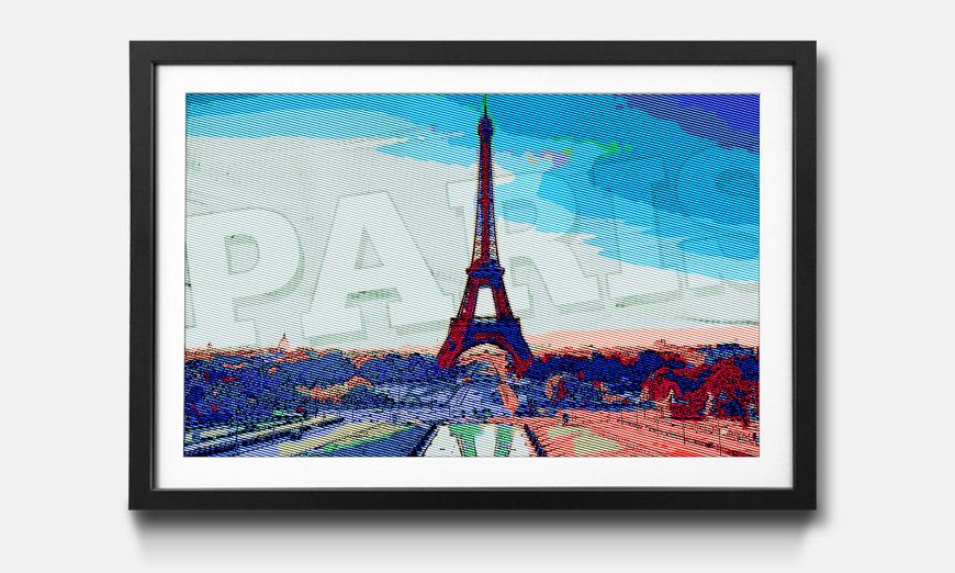 Tableau encadrée: Paris