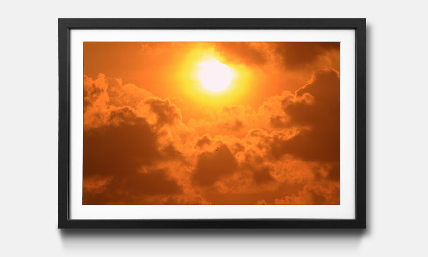 Tableau encadrée: Powerful Sun