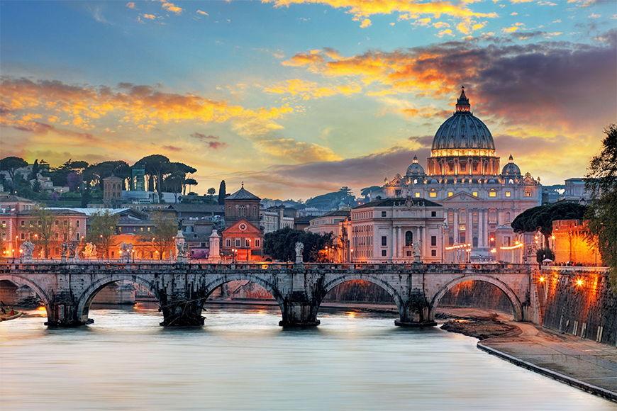 Intissé déco La Vatican 120x80cm et plus