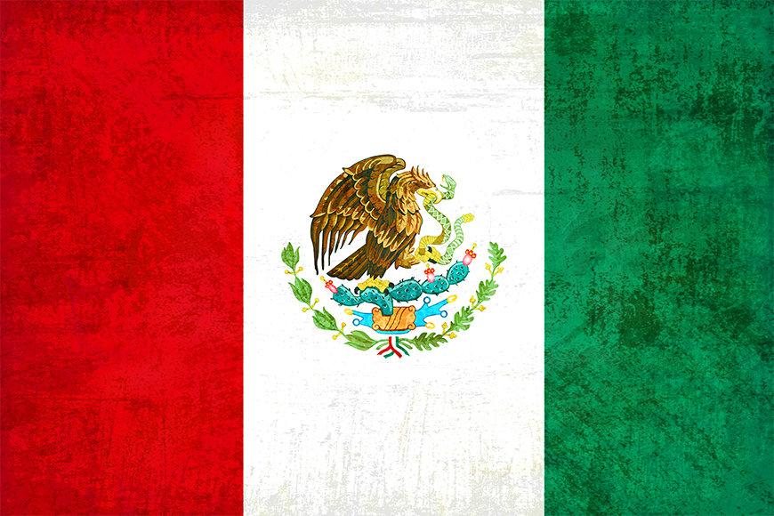 Intissé déco Mexique
