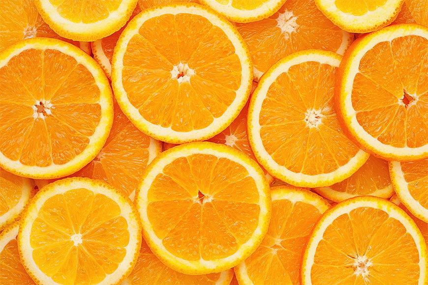 Intissé déco Orange Moment 120x80cm et plus
