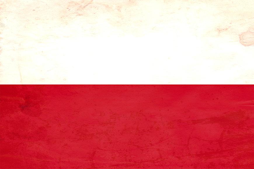 Intissé déco Pologne