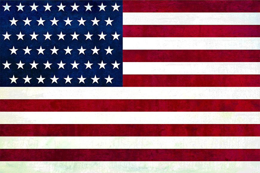 Intissé déco USA