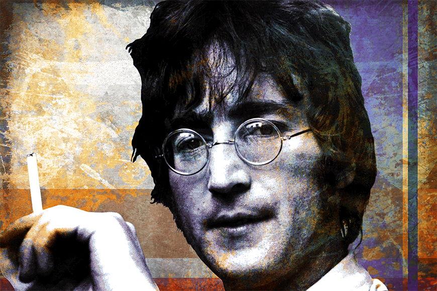Papier intissé Lennon 120x80cm et plus