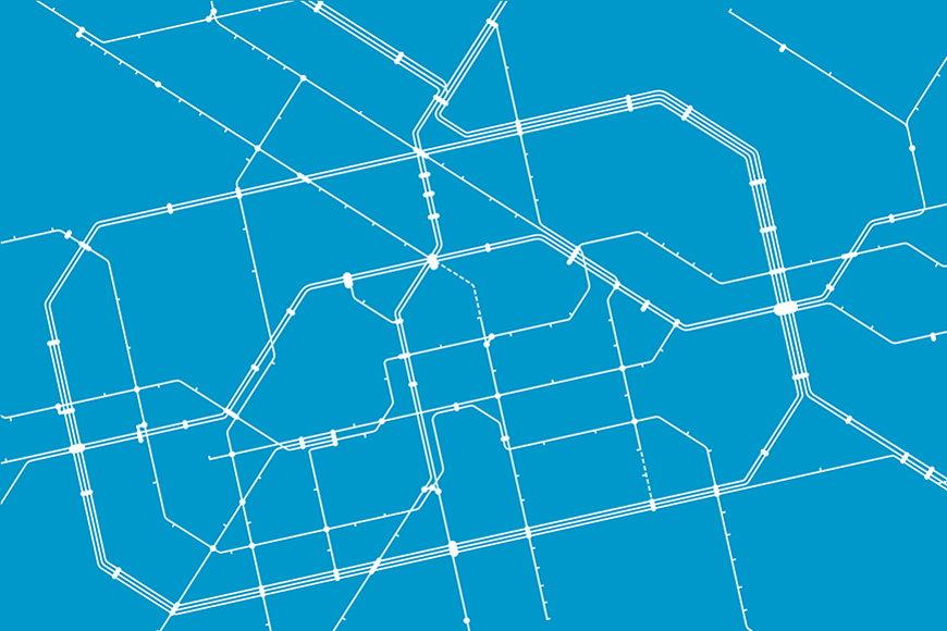 Papier intissé Métro Berlin 120x80cm et plus