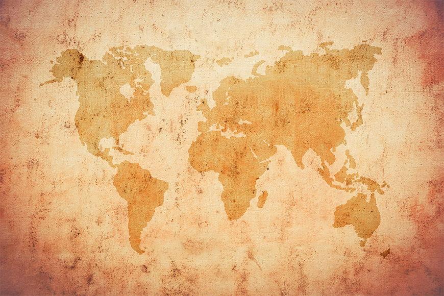 Papier intissé Old Worldmap 120x80cm et plus
