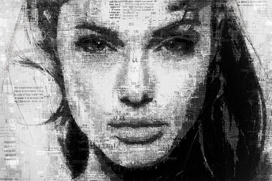 Papier peint Angelina 120x80cm et plus