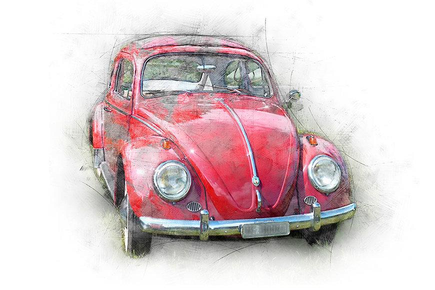 Papier peint Beetle