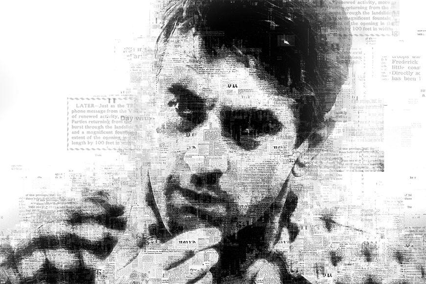 Papier peint De Niro 120x80cm et plus