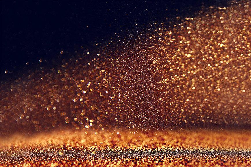 Papier peint Golden Dust
