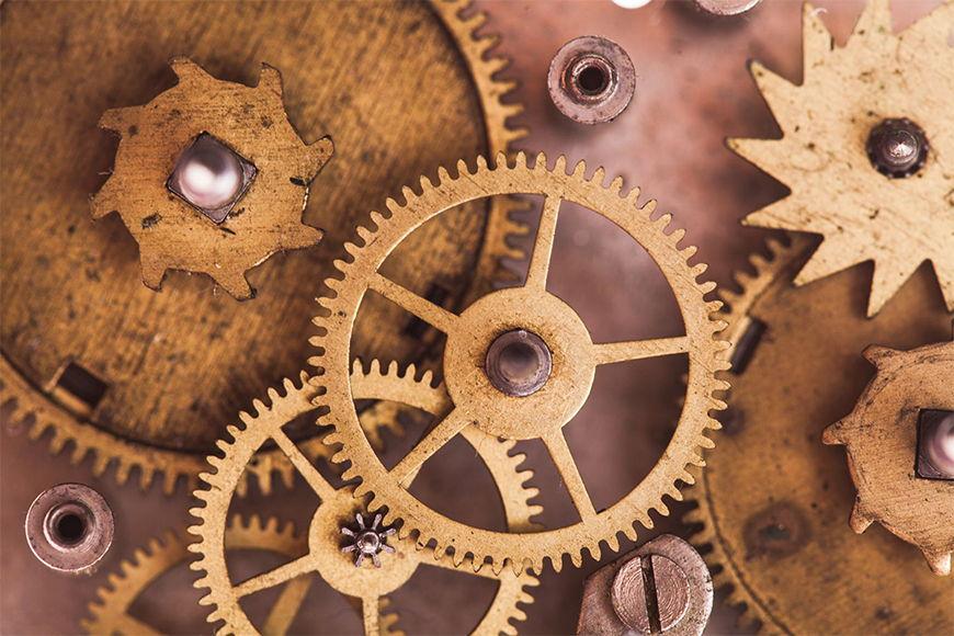Papier peint Horloge 120x80cm et plus