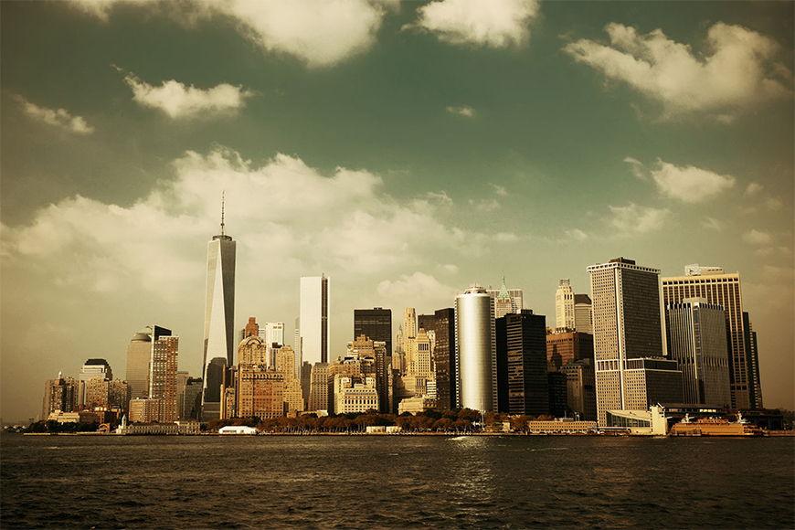 Papier peint Manhattan Skyline 120x80cm et plus