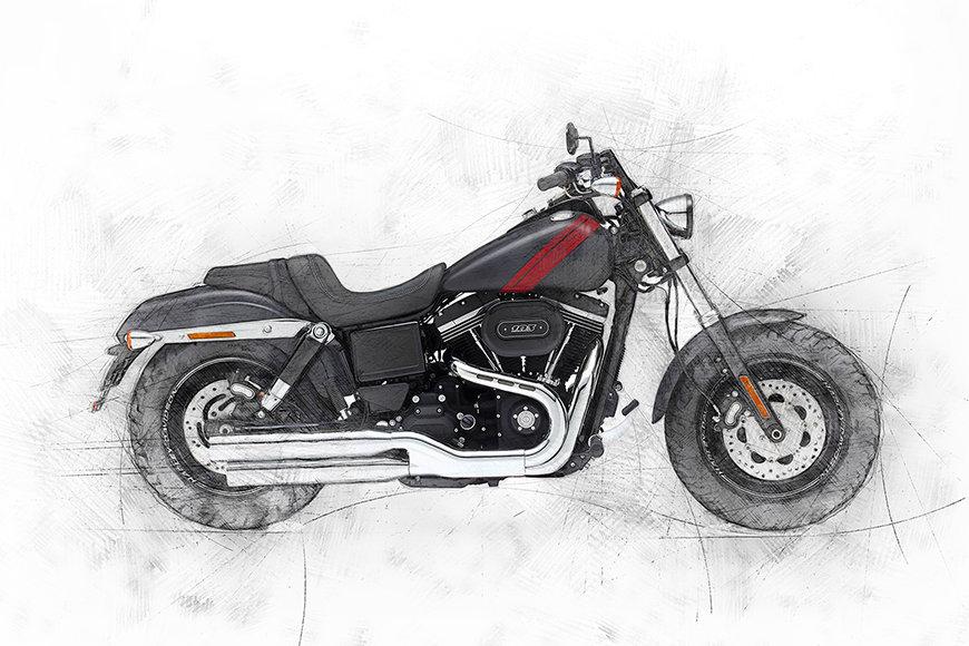 Papier peint Motorbike Uno